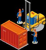 集装箱叉车 搬运、装卸